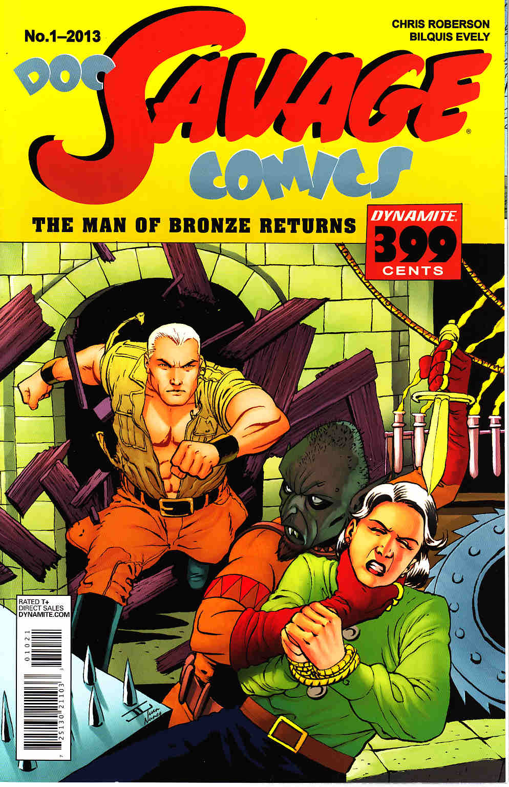 Doc Savage #1 Cassaday VIP Cover [Dynamite Comic] THUMBNAIL
