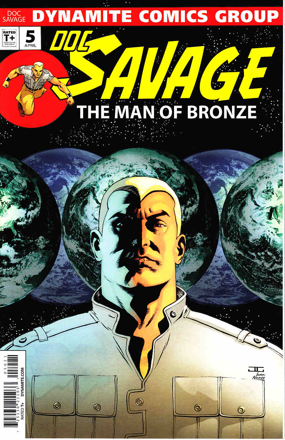 Doc Savage #5 Cassaday VIP Cover [Dynamite Comic] THUMBNAIL