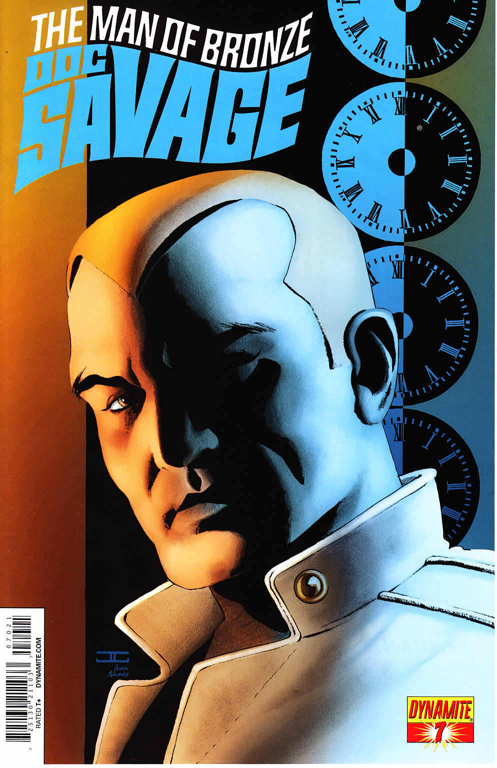 Doc Savage #7 Cassaday VIP Cover [Dynamite Comic] THUMBNAIL