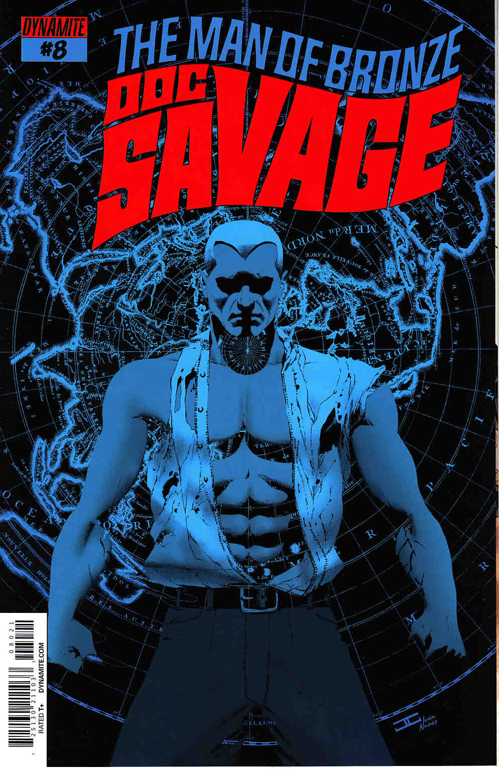 Doc Savage #8 Cassaday VIP Cover [Dynamite Comic] THUMBNAIL
