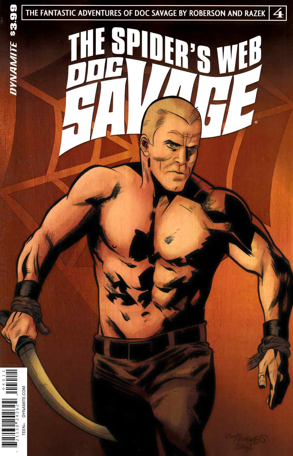 Doc Savage Spiders Web #4 [Dynamite Comic]