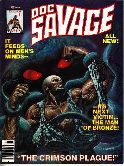 Doc Savage Magazine #8 Very Fine (8.0)  [Marvel Comic] LARGE