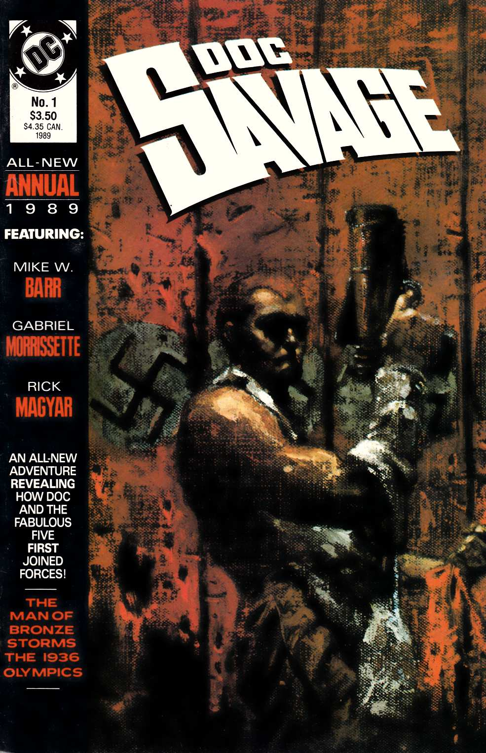 Doc Savage Annual #1 Fine (6.0) [DC Comic] THUMBNAIL