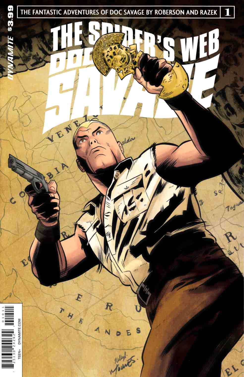 Doc Savage Spiders Web #1 Cover A- Torres [Dynamite Comic]