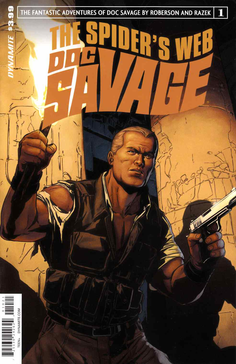 Doc Savage Spiders Web #1 Cover B- Laming Exclusive Subscription Cover [Dynamite Comic]