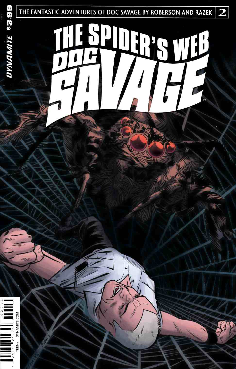 Doc Savage Spiders Web #2 Cover A- Torres [Dynamite Comic]