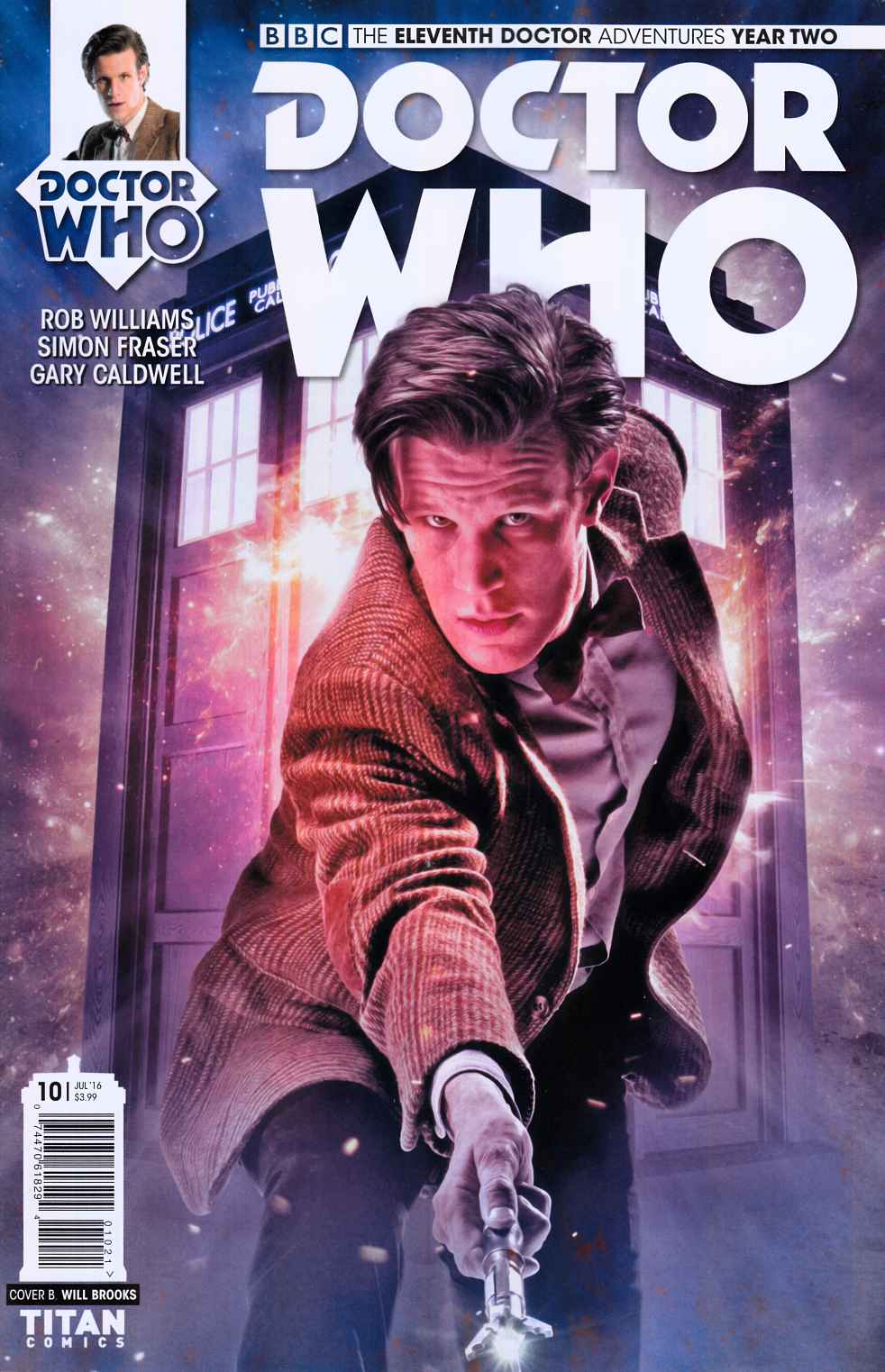 Doctor Who 11th Doctor Year Two #10 Cover B [Titan Comic] THUMBNAIL