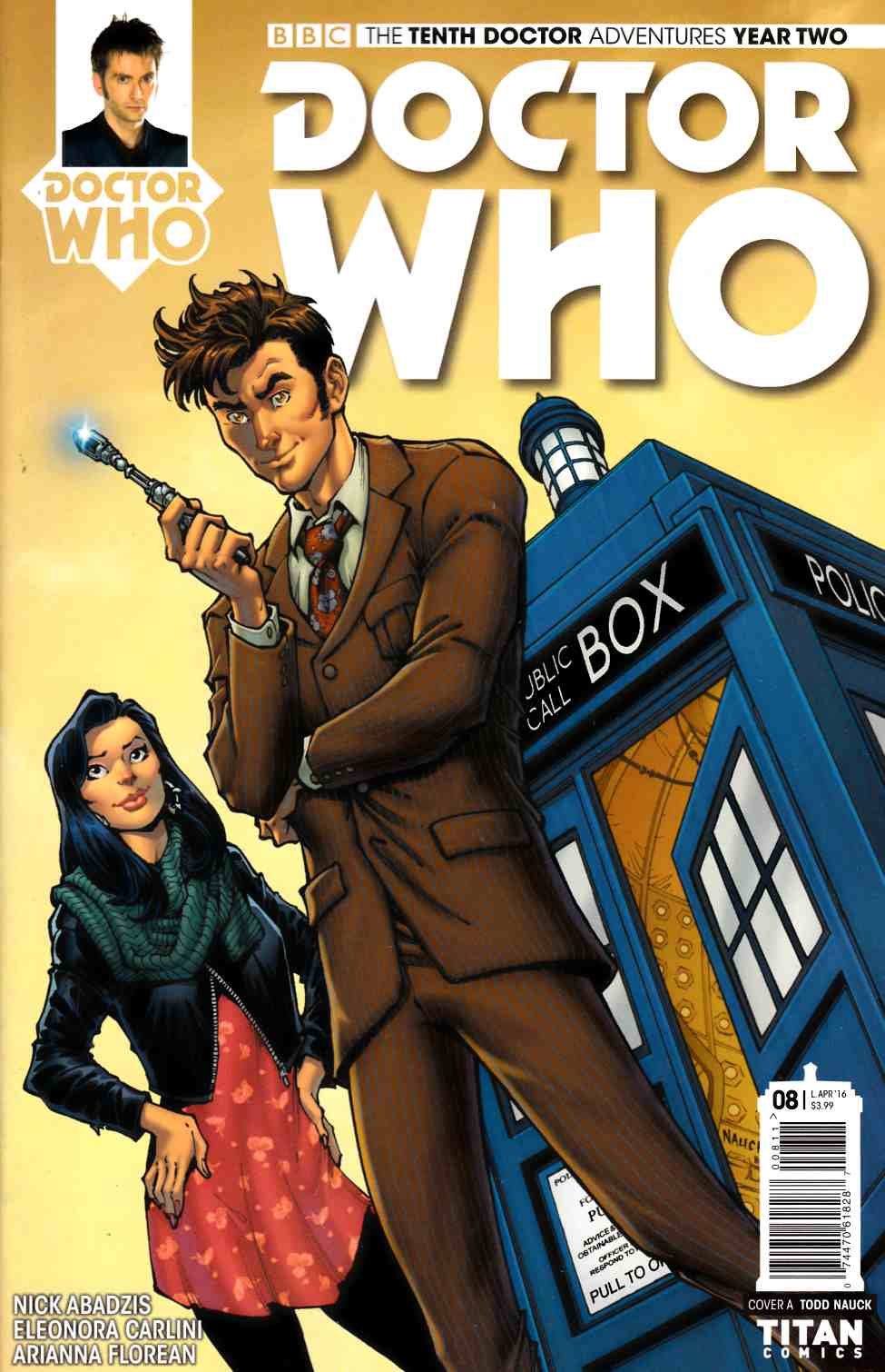 Doctor Who 10th Doctor Year Two #8 Cover A [Titan Comic]