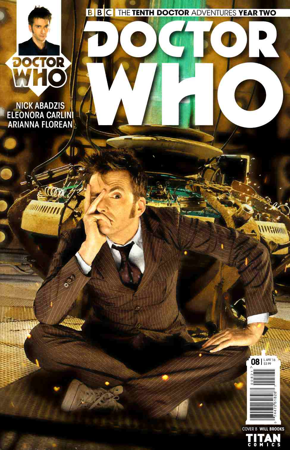 Doctor Who 10th Doctor Year Two #8 Cover B [Titan Comic] THUMBNAIL