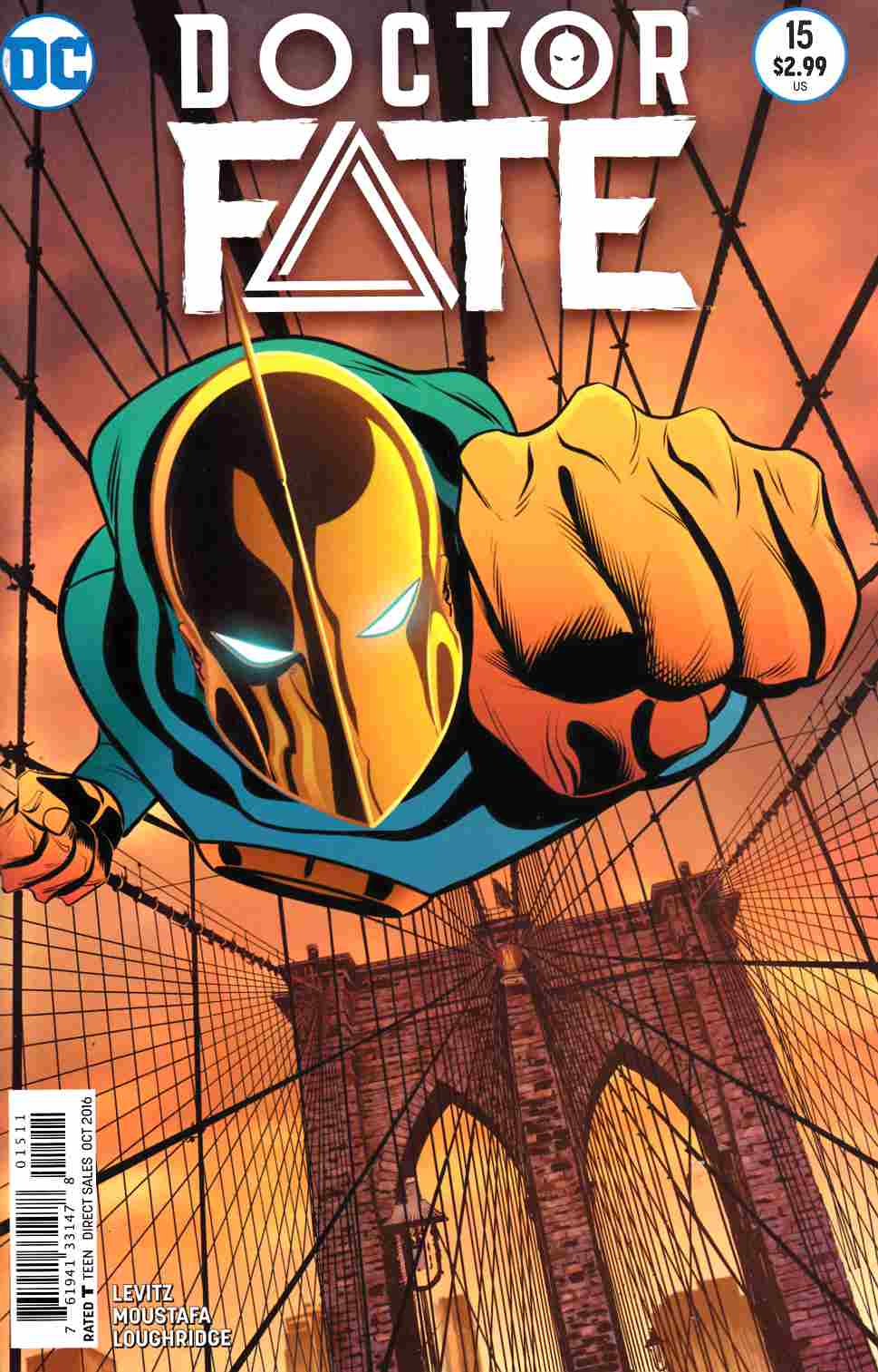 Doctor Fate #15 [DC Comic] LARGE