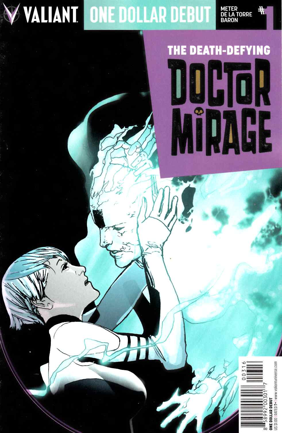 Death Defying Dr Mirage #1 One Dollar Debut [Valiant Comic]_THUMBNAIL