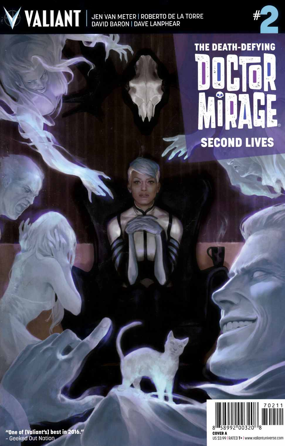 Dr Mirage Second Lives #2 Cover A- Djurdjevic [Valiant Comic] THUMBNAIL