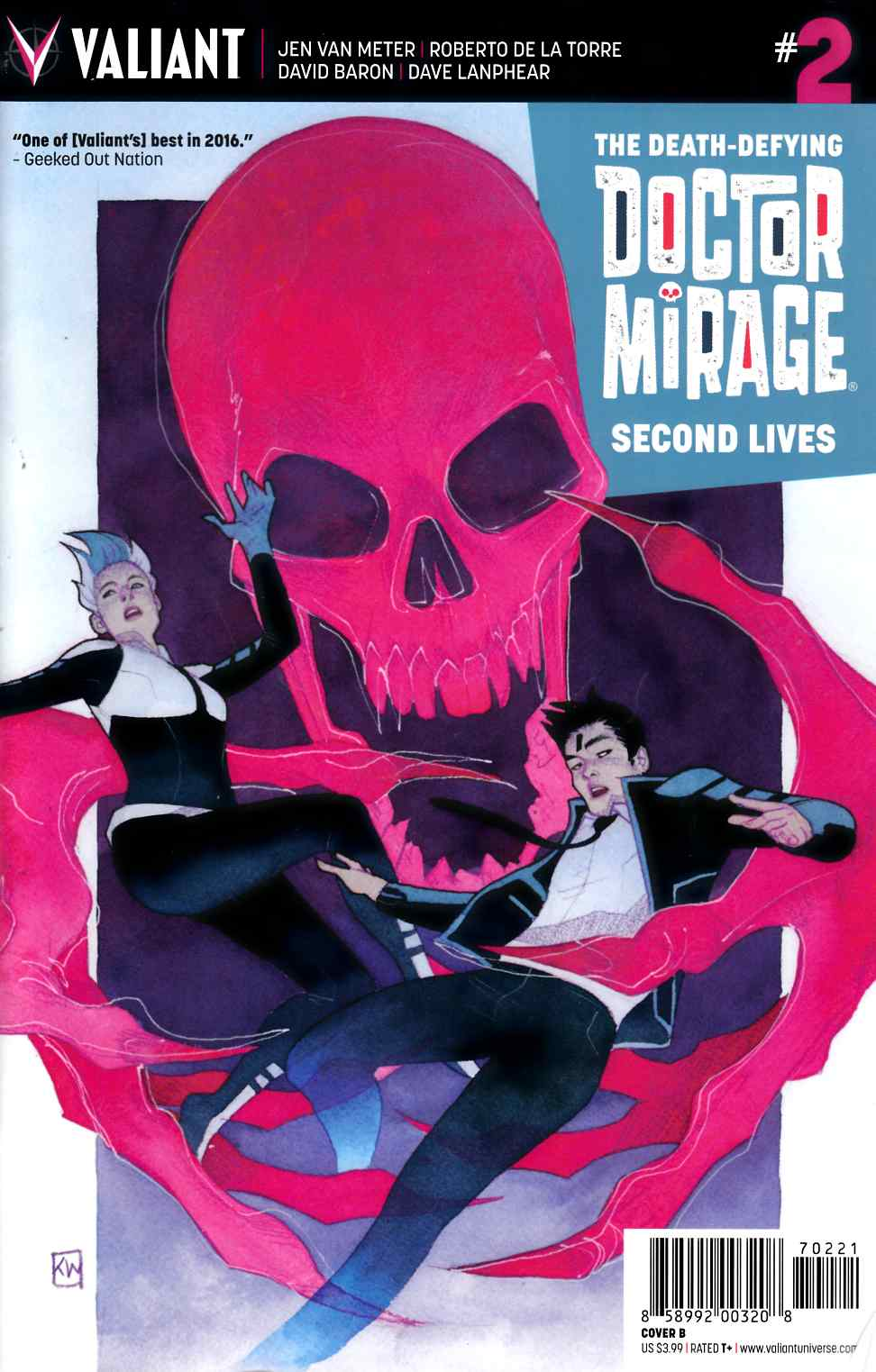 Dr Mirage Second Lives #2 Cover B- Wada [Valiant Comic] THUMBNAIL