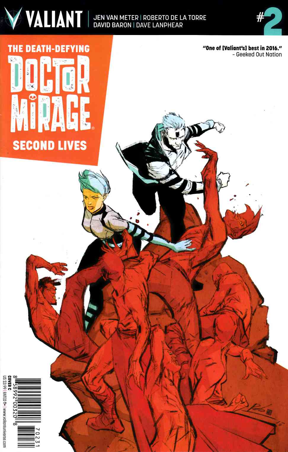 Dr Mirage Second Lives #2 Cover C- De La Torre [Valiant Comic]