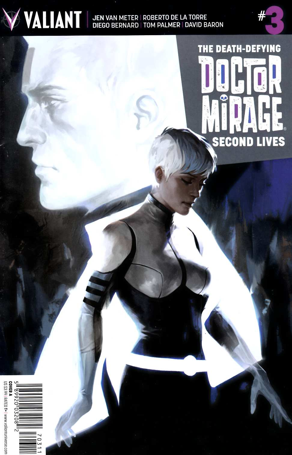 Dr Mirage Second Lives #3 Cover A- Djurdjevic [Valiant Comic]