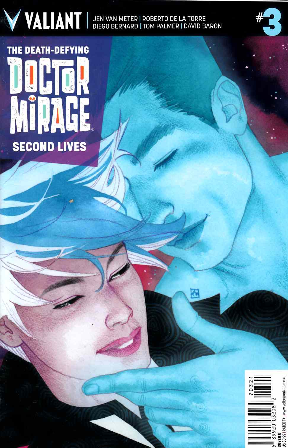 Dr Mirage Second Lives #3 Cover B- Wada [Valiant Comic] LARGE
