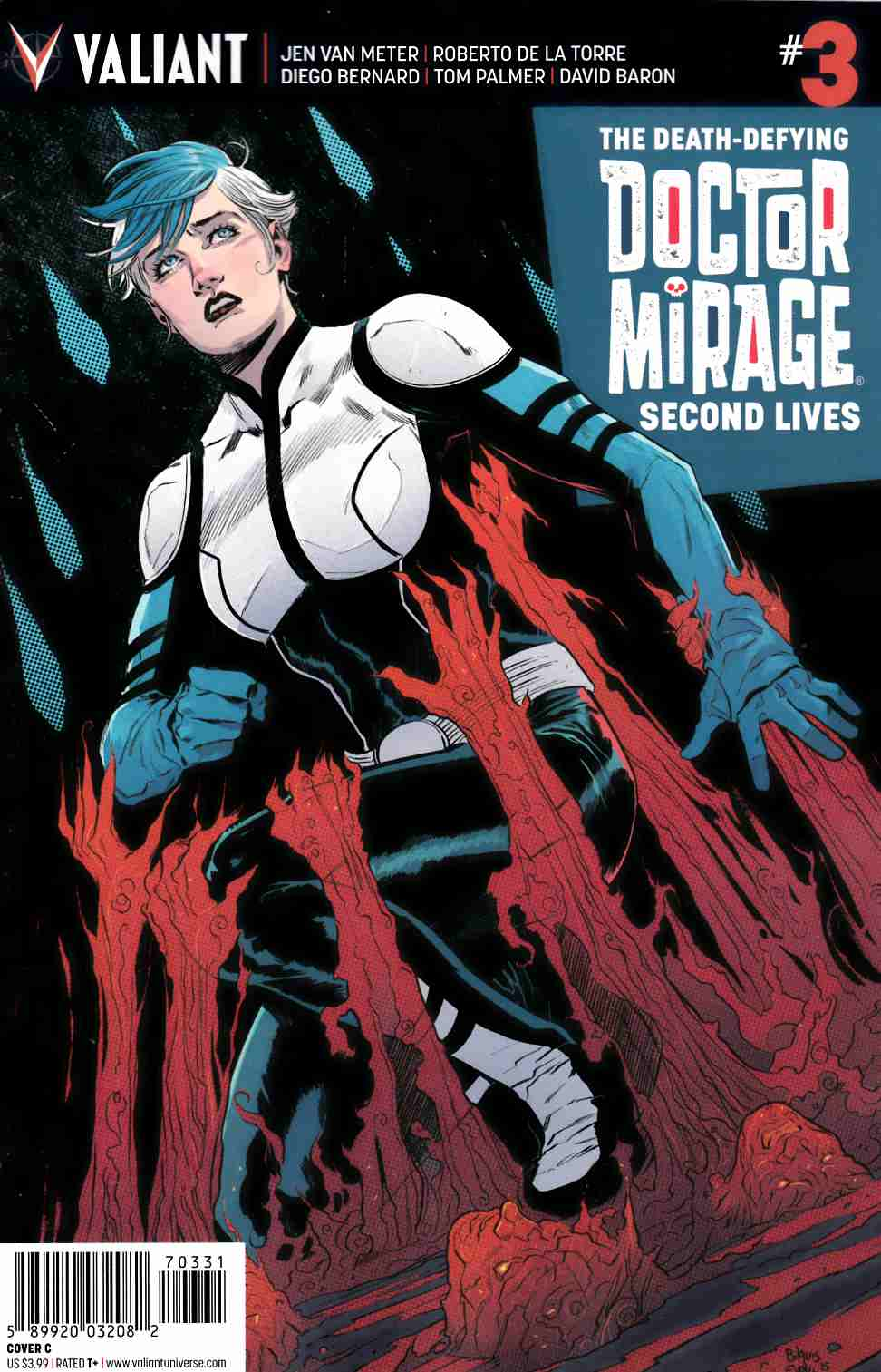 Dr Mirage Second Lives #3 Cover C- Evely [Valiant Comic]