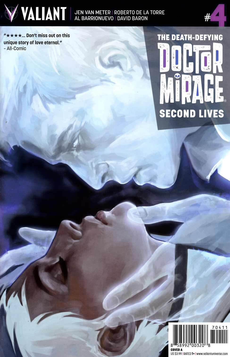 Dr Mirage Second Lives #4 Cover A [Valiant Comic]