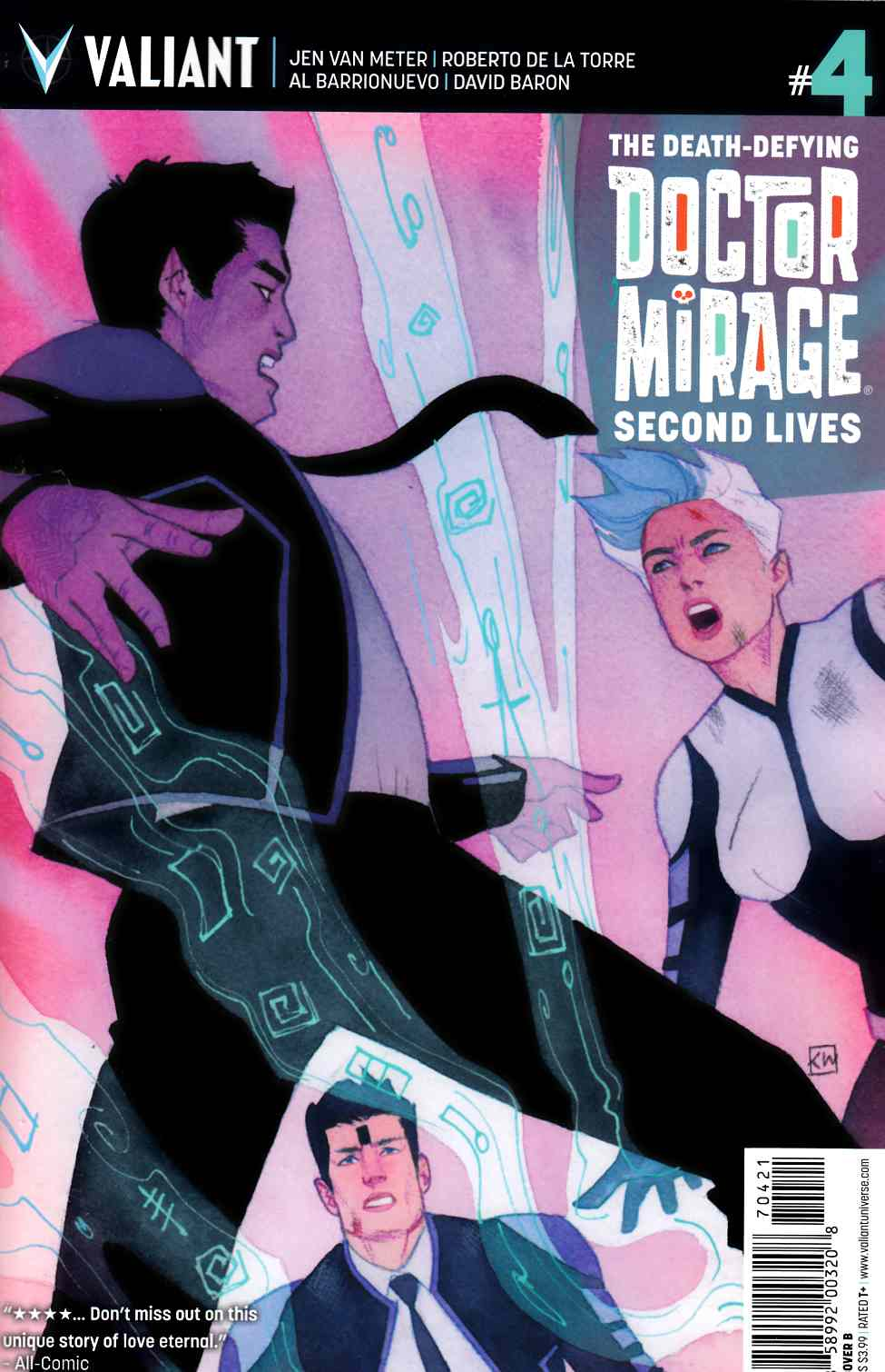 Dr Mirage Second Lives #4 Cover B [Valiant Comic] THUMBNAIL