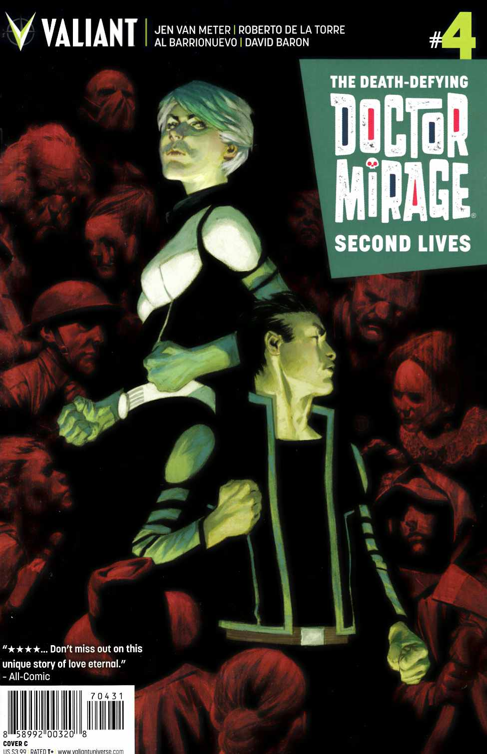 Dr Mirage Second Lives #4 Cover C [Valiant Comic]