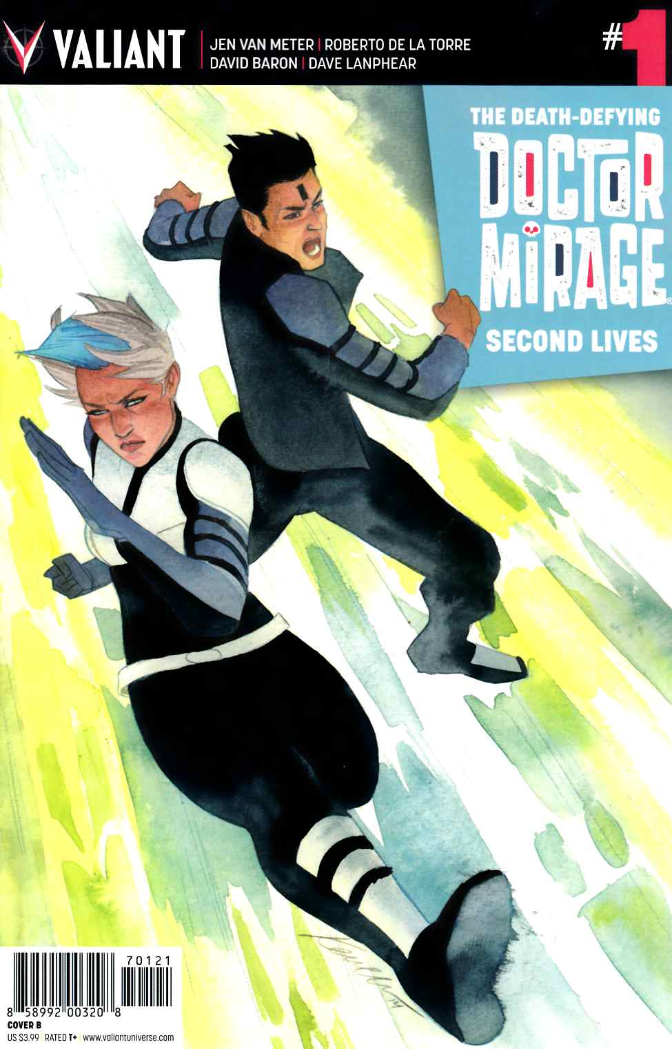 Dr Mirage Second Lives #1 Cover B- Wada [Valiant Comic]