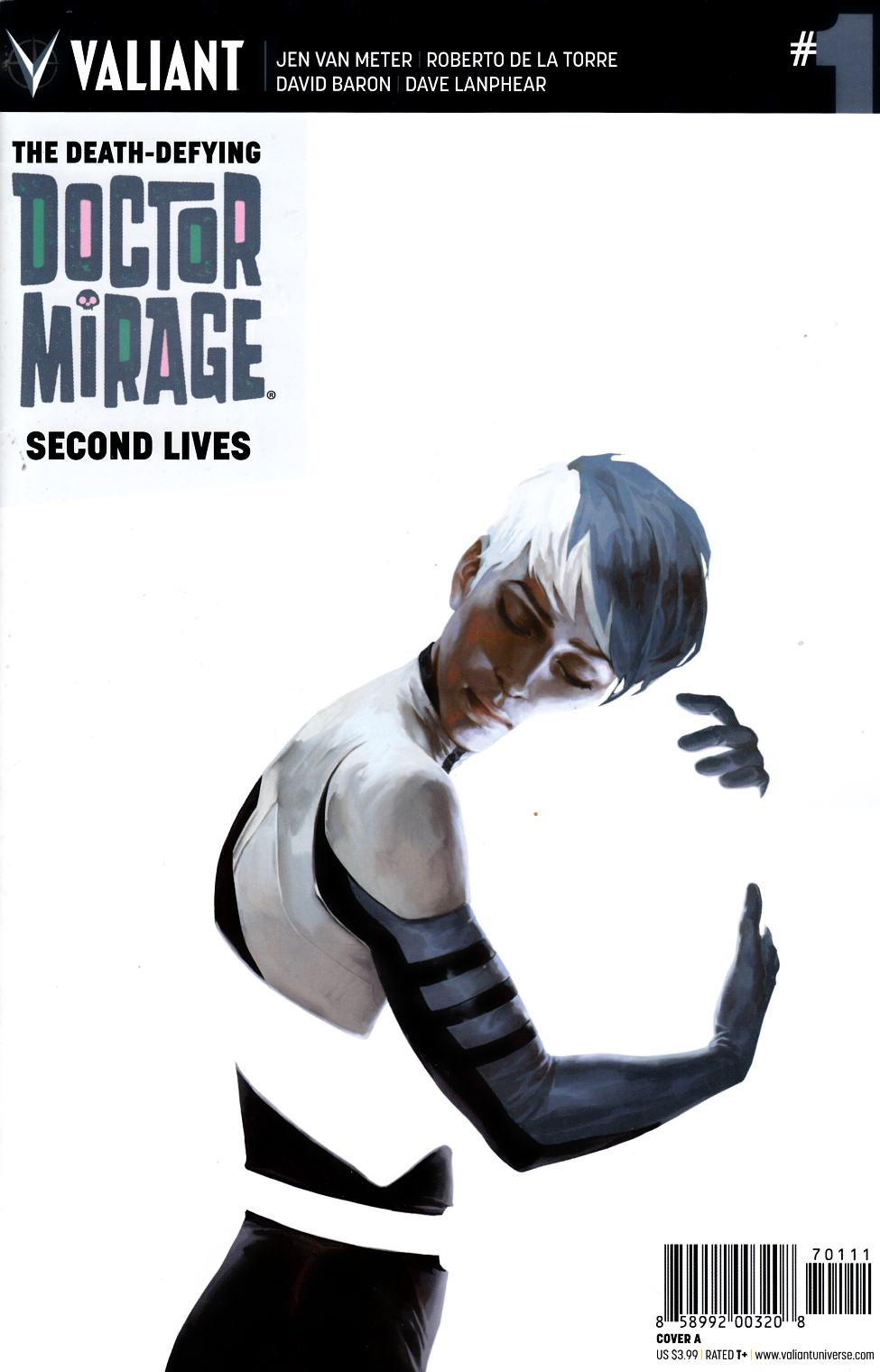 Dr Mirage Second Lives #1 Cover A- Djurdjevic [Valiant Comic]