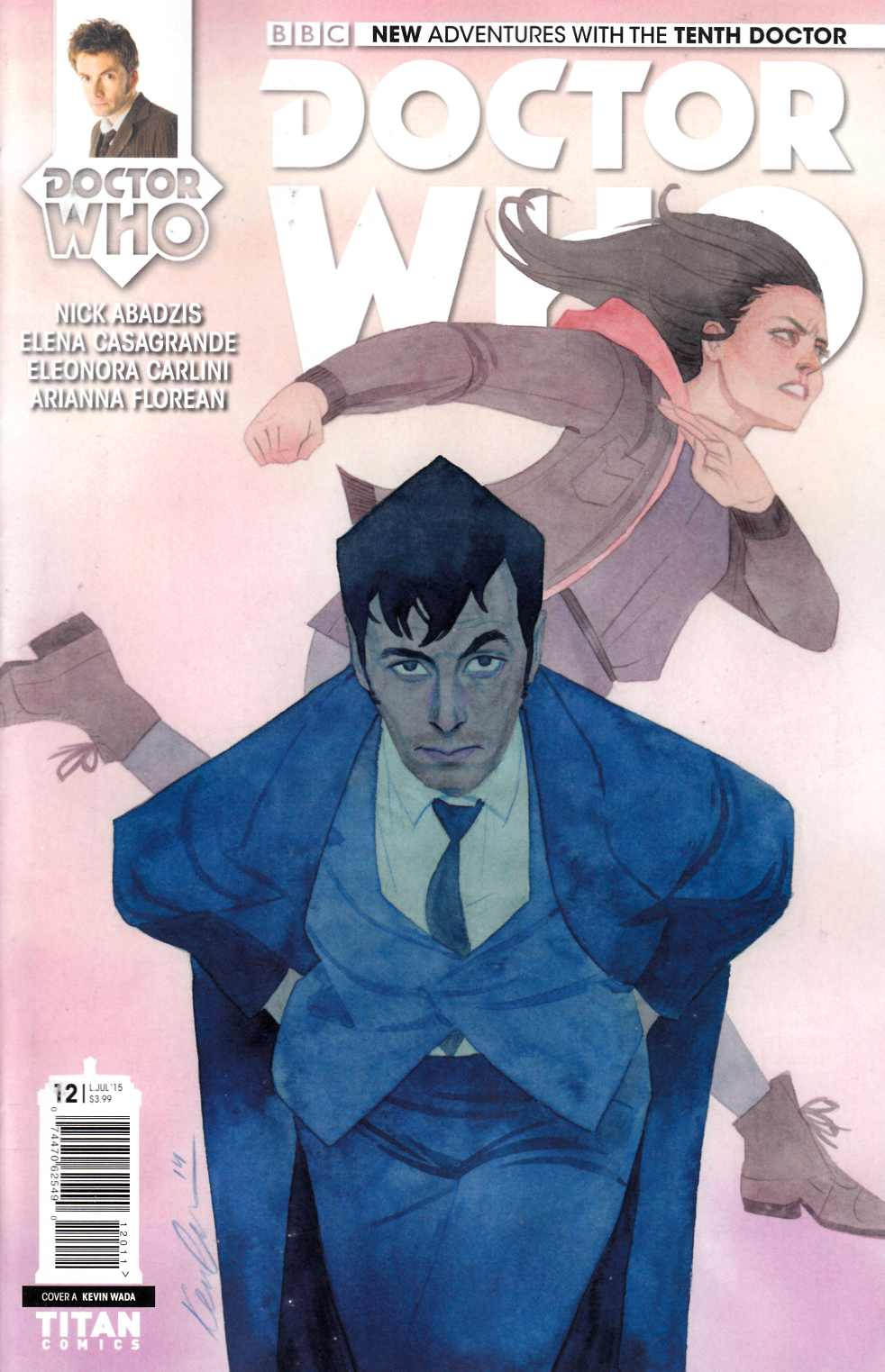 Doctor Who 10th Doctor #12 [Titan Comic] THUMBNAIL
