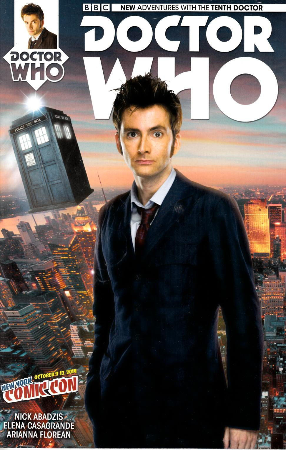 Doctor Who 10th Doctor #1 NYCC Exclusive Cover [Titan Comic] THUMBNAIL