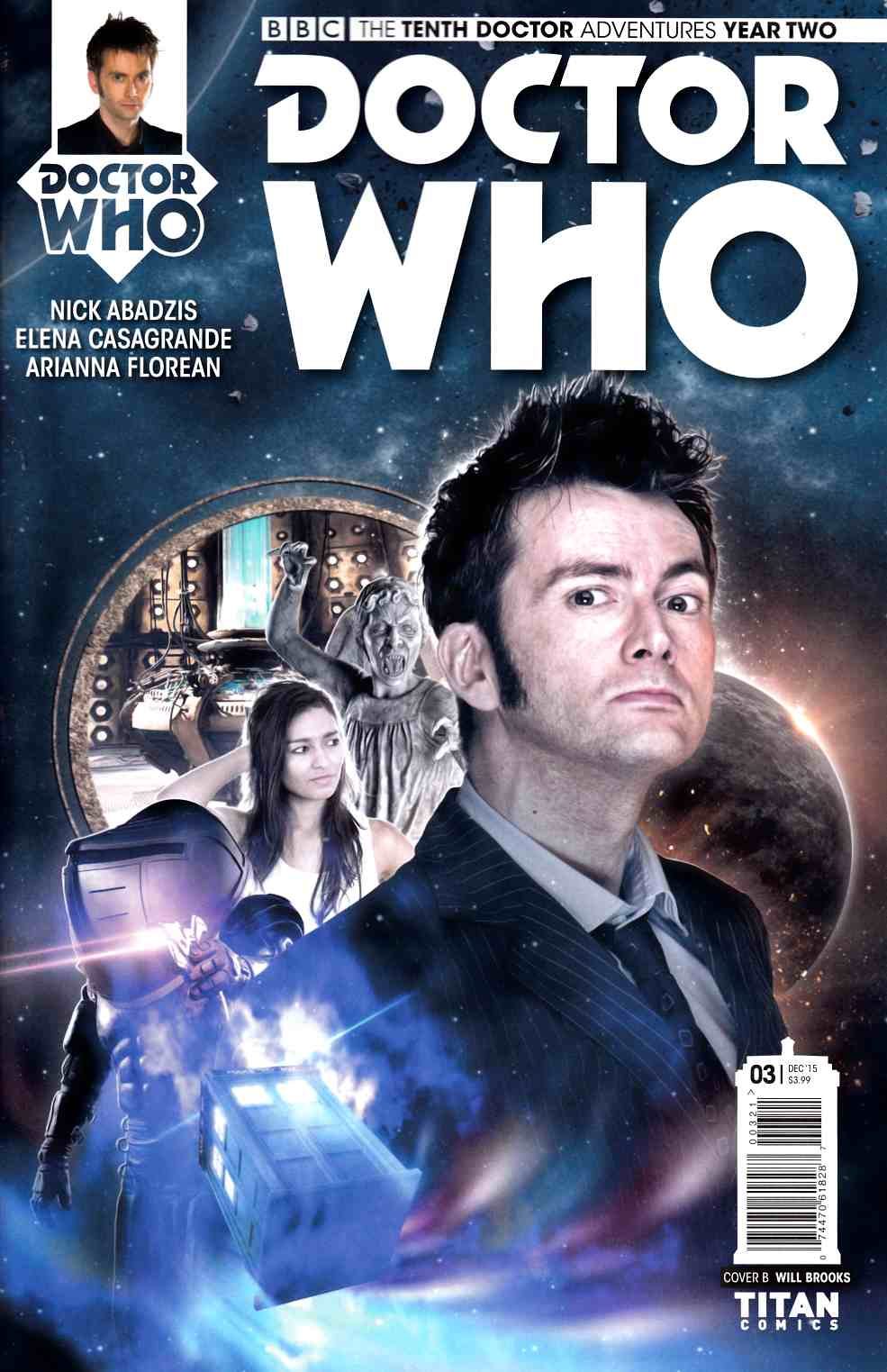 Doctor Who 10th Doctor Year 2 #3 Subscription Photo Cover [Titan Comic]_THUMBNAIL