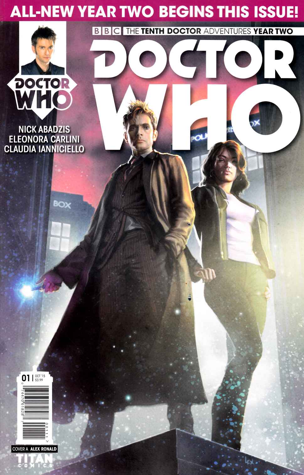 Doctor Who 10th Doctor Year Two #1 [Titan Comic] LARGE