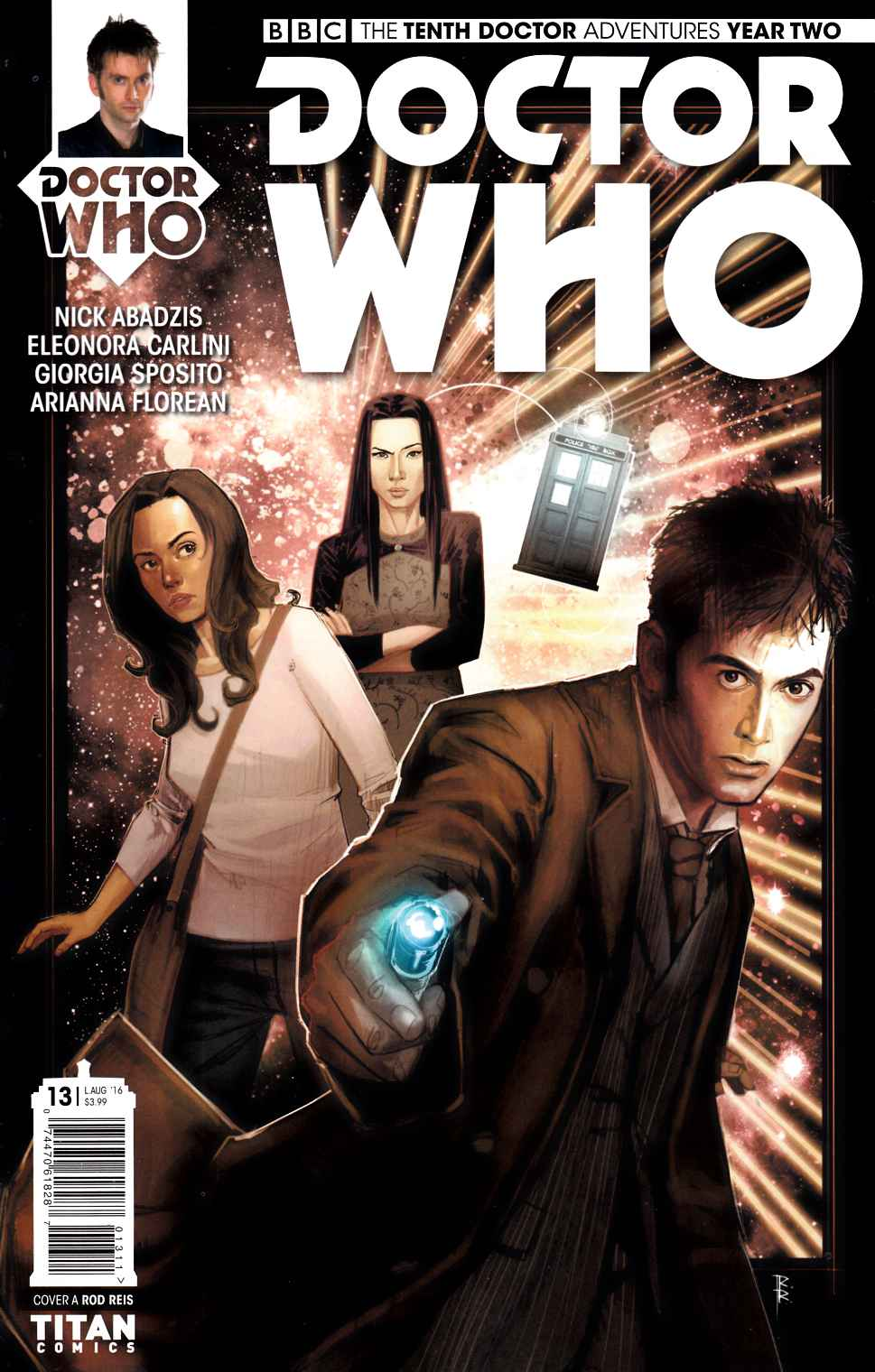 Doctor Who 10th Doctor Year Two #13 Cover A [Titan Comic] LARGE