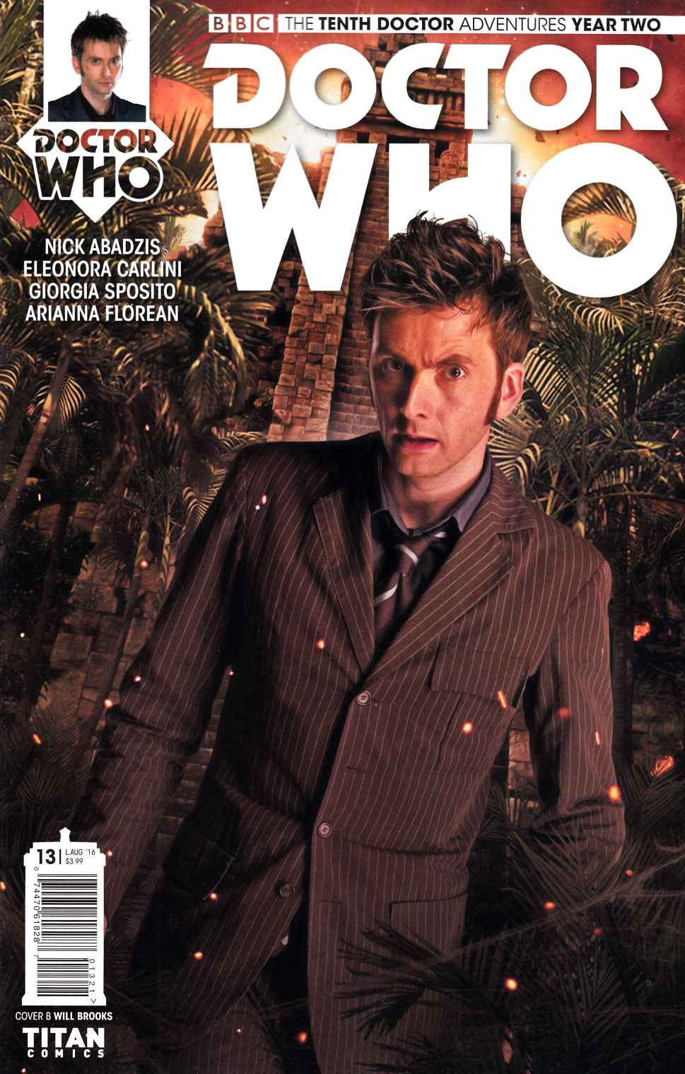 Doctor Who 10th Doctor Year Two #13 Cover B [Titan Comic] LARGE