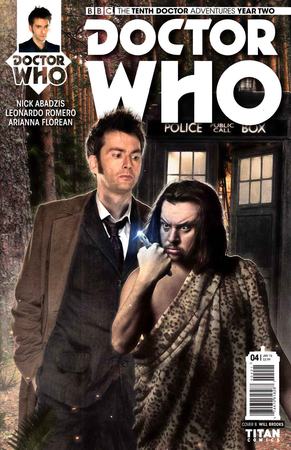 Doctor Who 10th Doctor Year 2 #4 Subscription Photo Cover [Titan Comic]_LARGE
