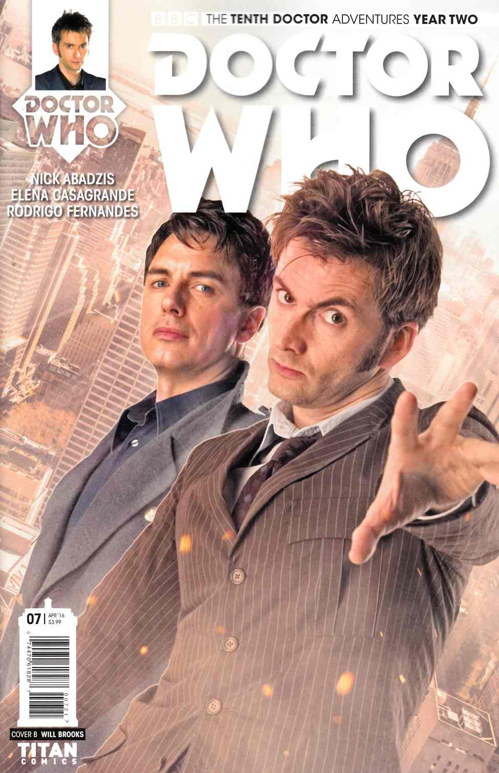 Doctor Who 10th Doctor Year Two #7 Cover B [Titan Comic] THUMBNAIL