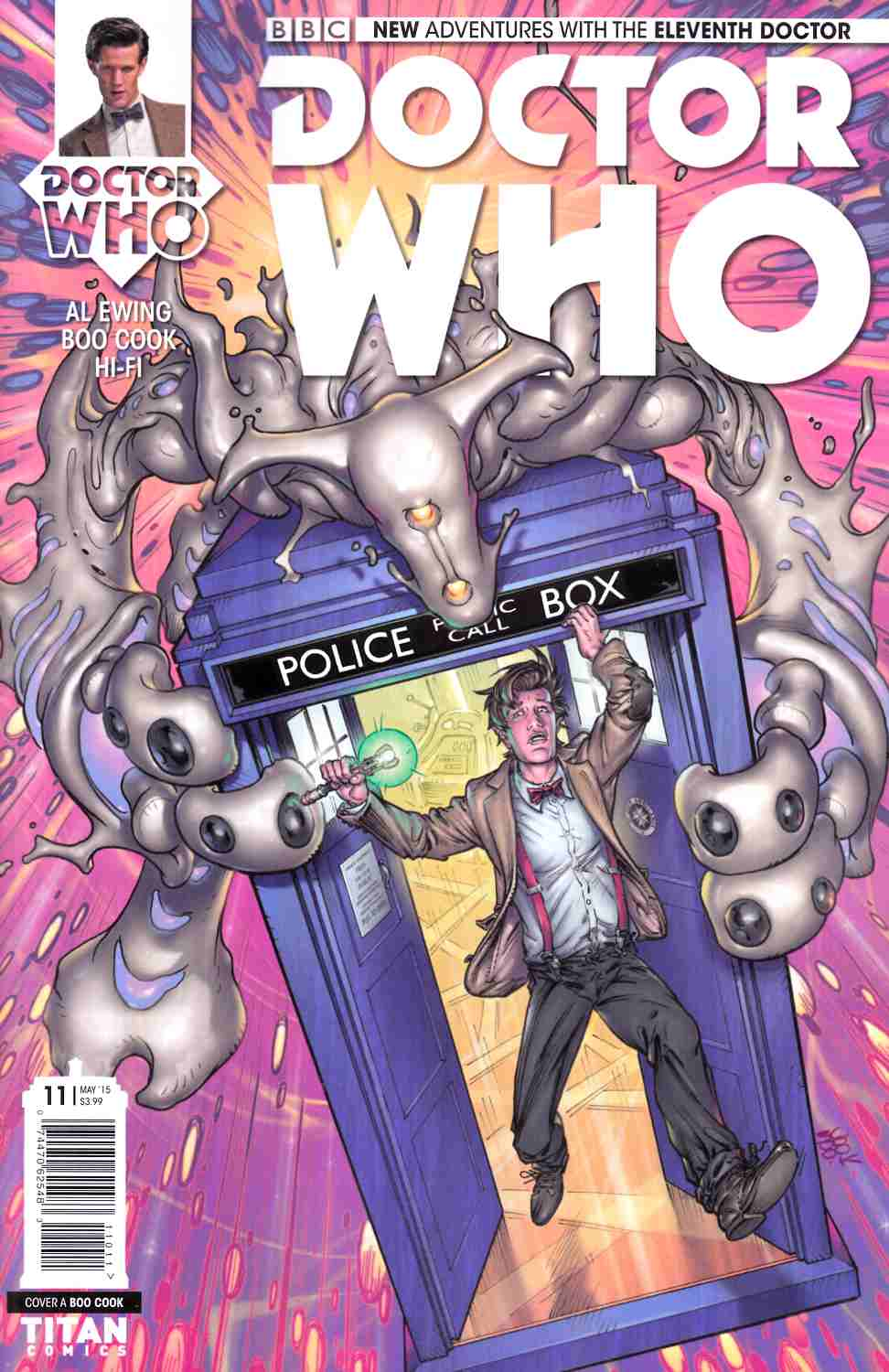 Doctor Who 11th Doctor #11 [Titan Comic] THUMBNAIL