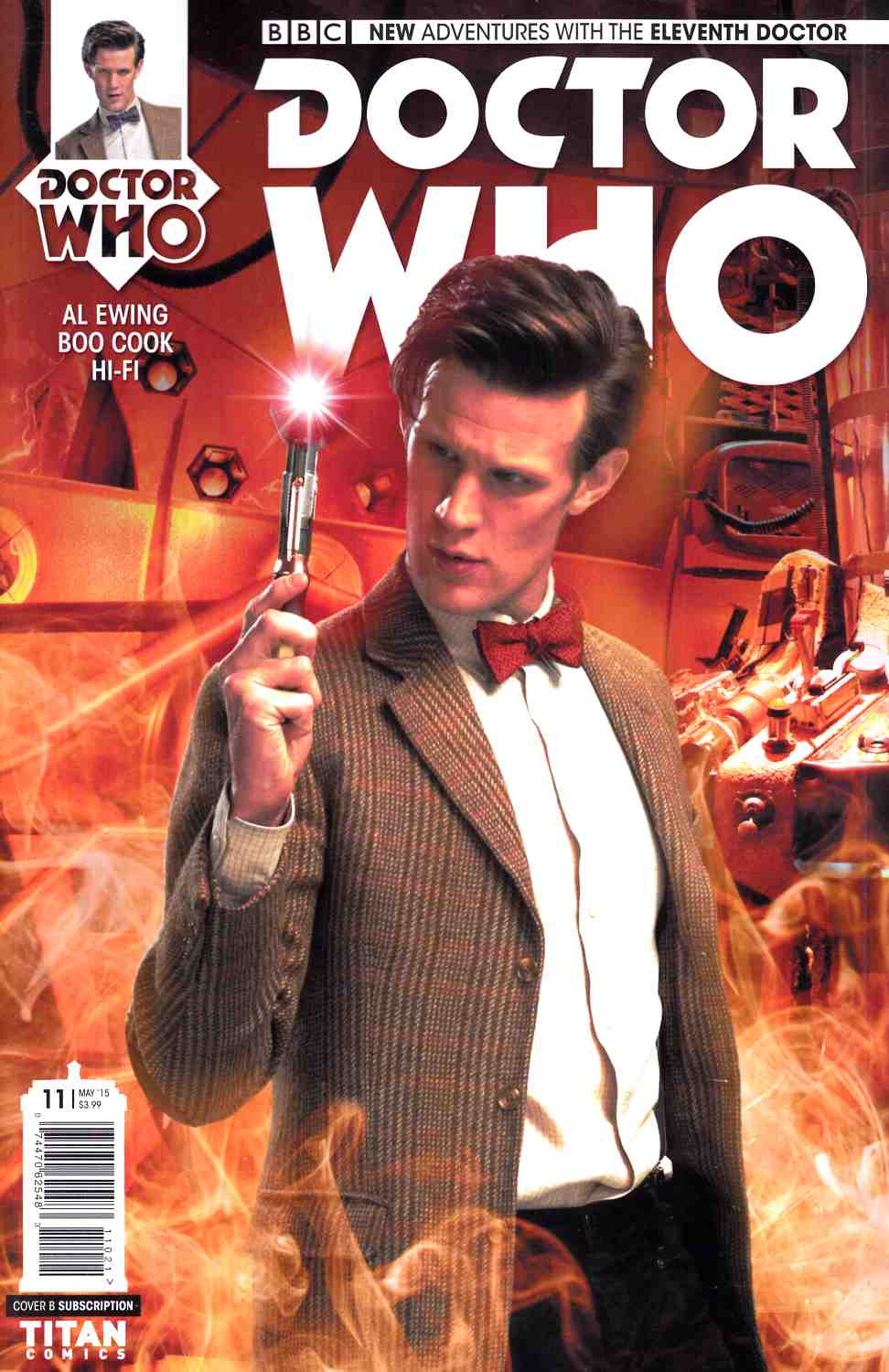 Doctor Who 11th Doctor #11 Subscription Photo Cover [Titan Comic] THUMBNAIL