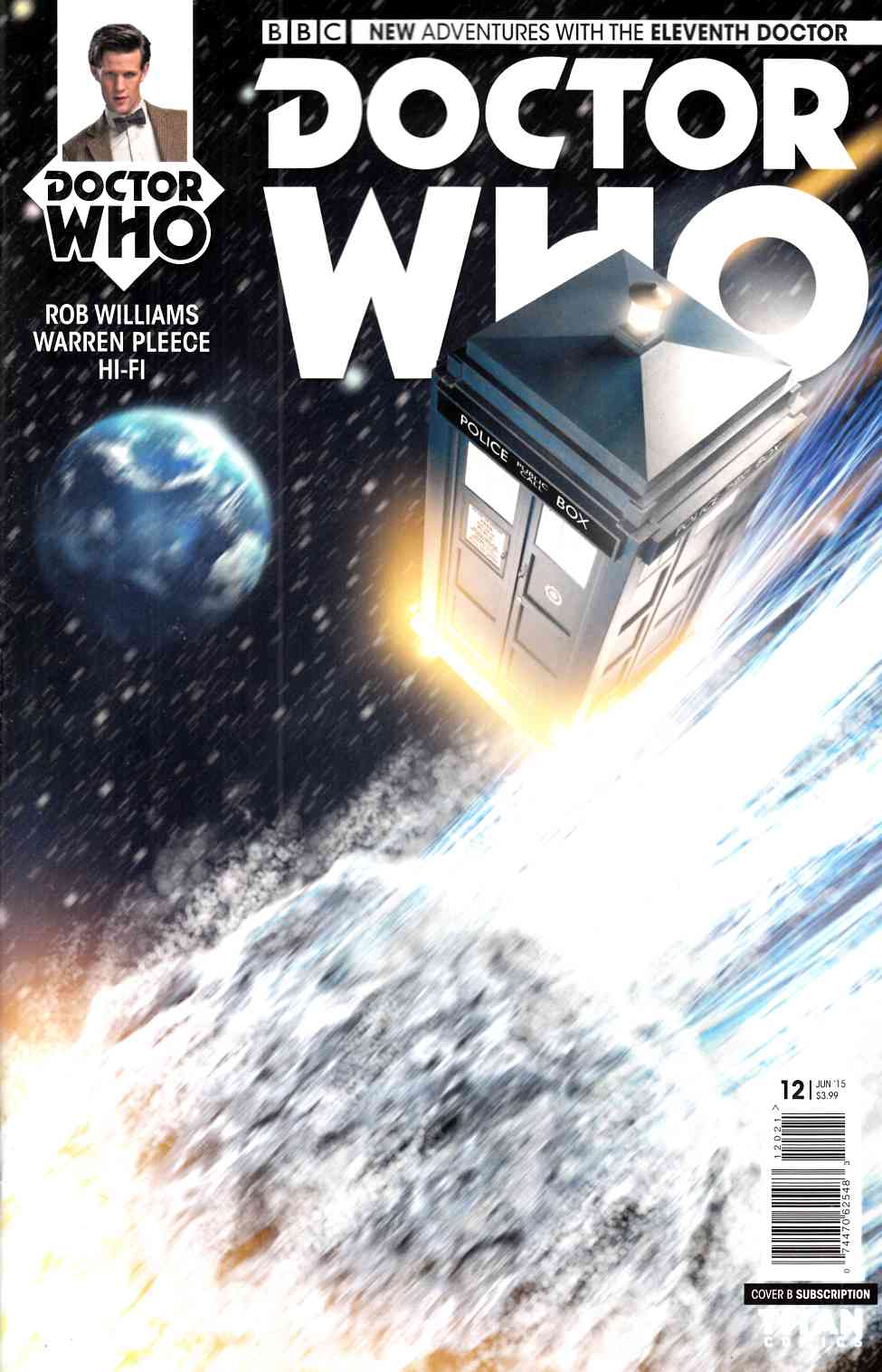 Doctor Who 11th Doctor #12 Subscription Photo Cover [Titan Comic] THUMBNAIL