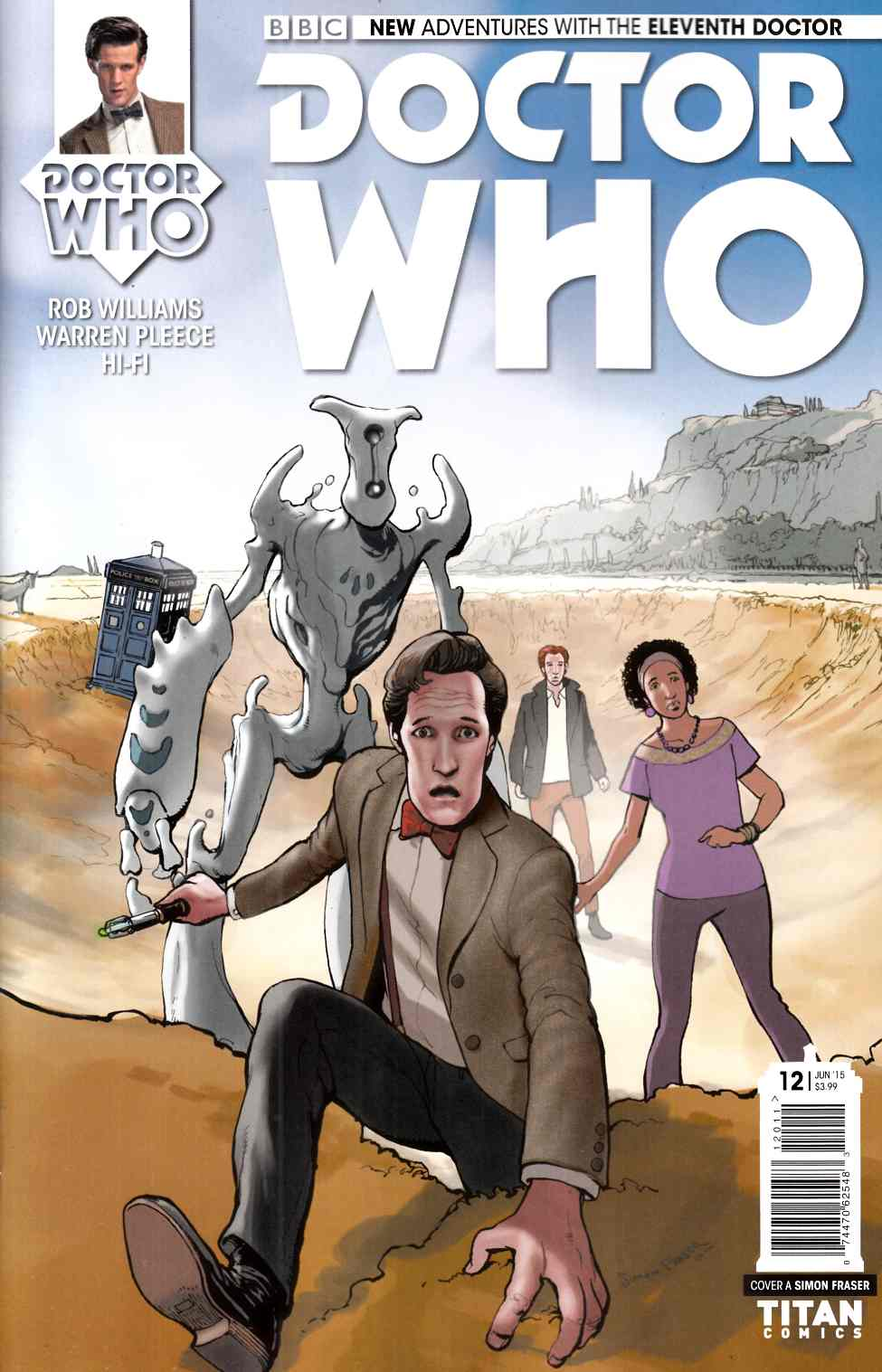 Doctor Who 11th Doctor #12 [Titan Comic] THUMBNAIL