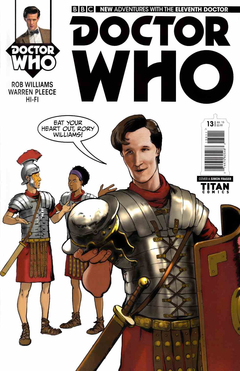Doctor Who 11th Doctor #13 [Titan Comic] THUMBNAIL