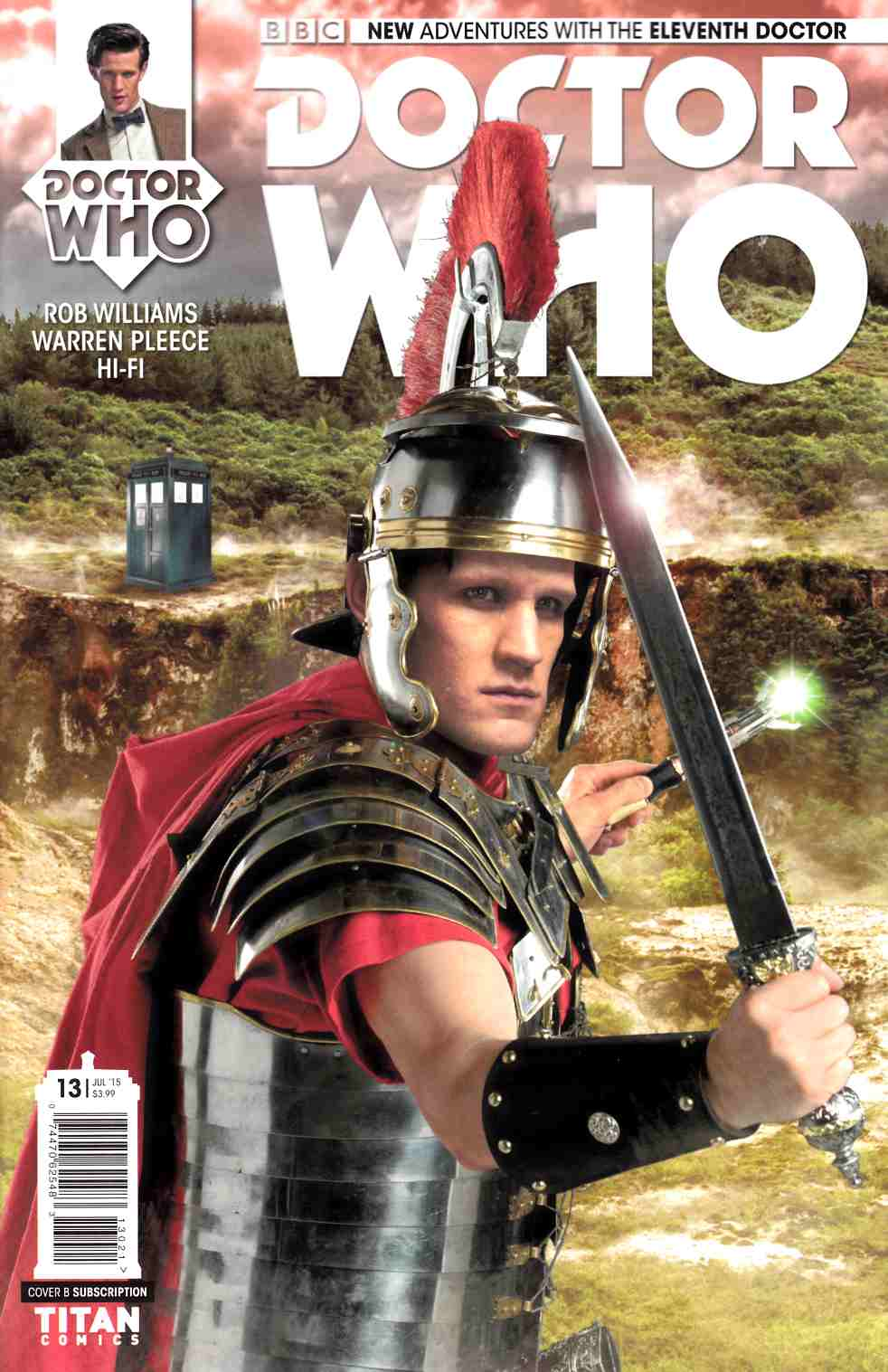 Doctor Who 11th Doctor #13 Subscription Photo Cover [Titan Comic] THUMBNAIL
