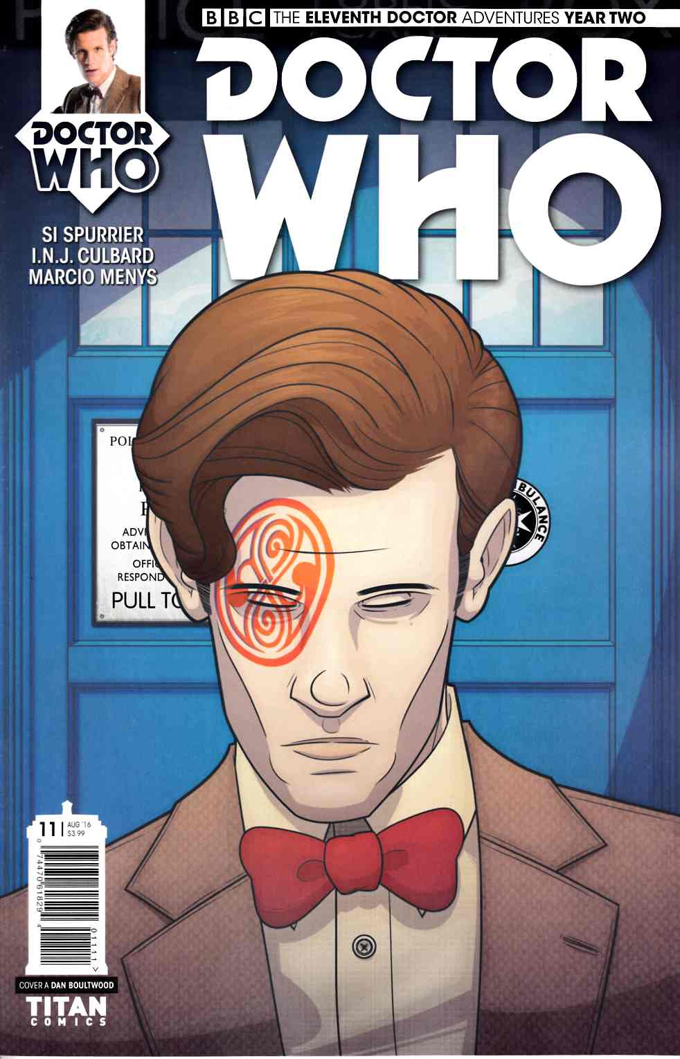 Doctor Who 11th Doctor Year Two #11 Cover A [Titan Comic] THUMBNAIL