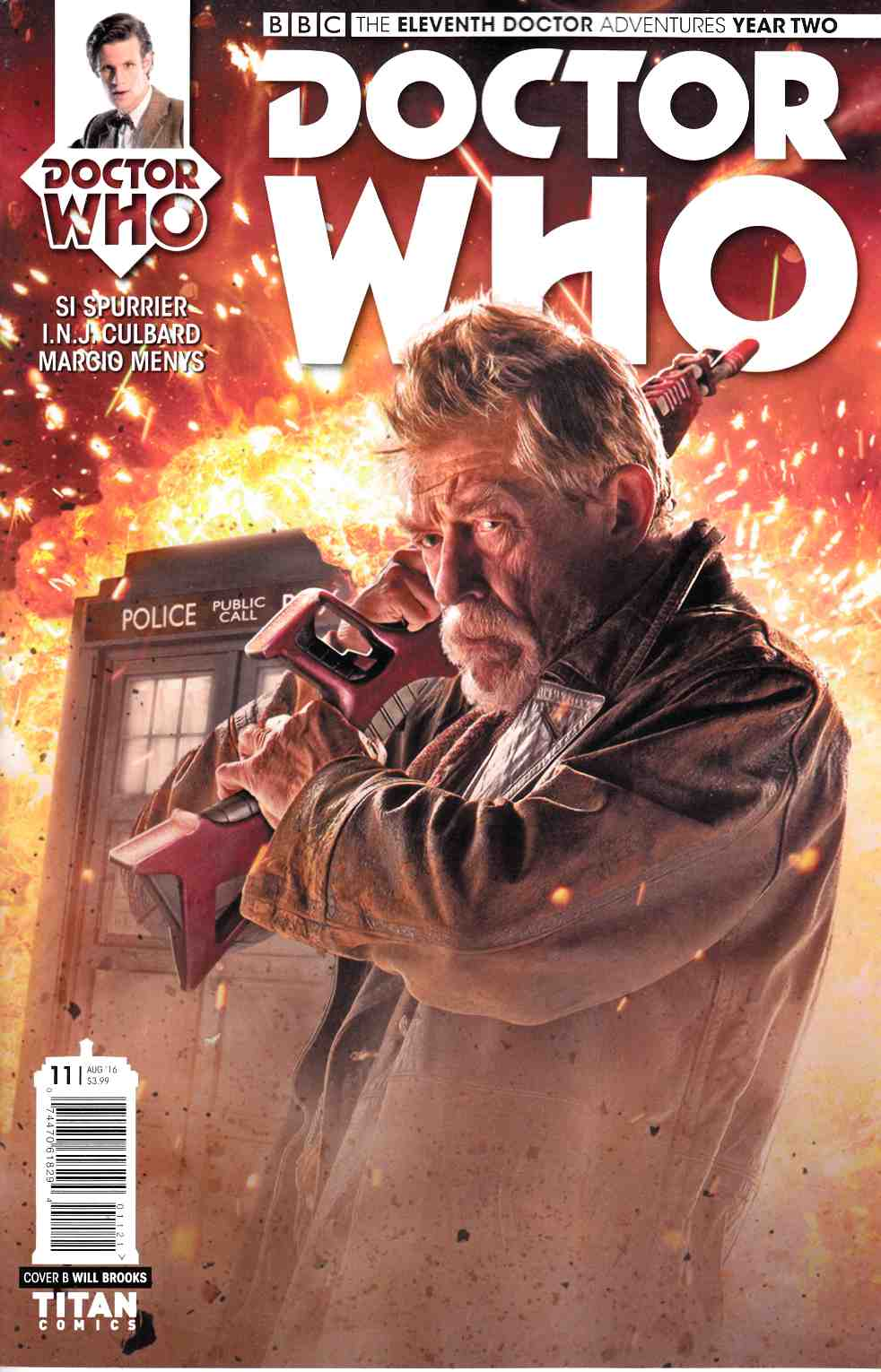 Doctor Who 11th Doctor Year Two #11 Cover B [Titan Comic] THUMBNAIL
