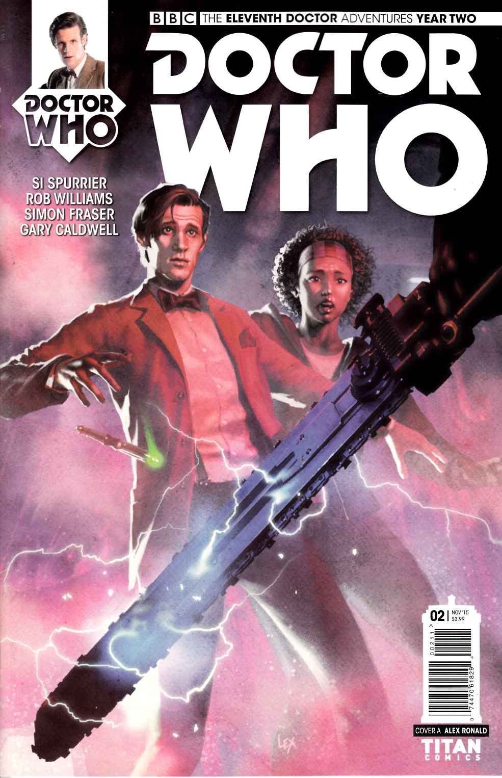 Doctor Who 11th Doctor Year 2 #2 [Titan Comic] THUMBNAIL