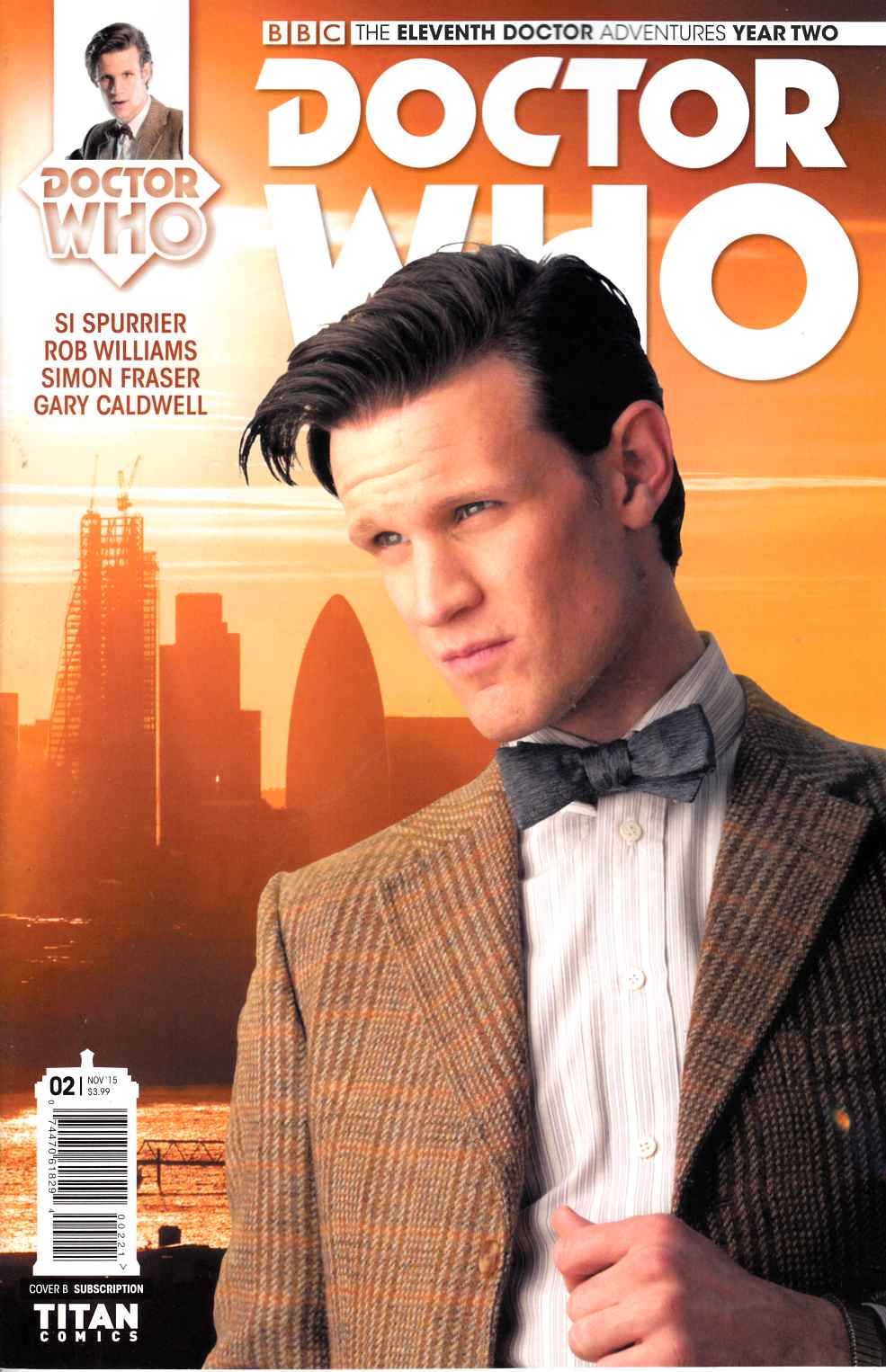 Doctor Who 11th Doctor Year 2 #2 Subscription Photo Cover [Titan Comic]