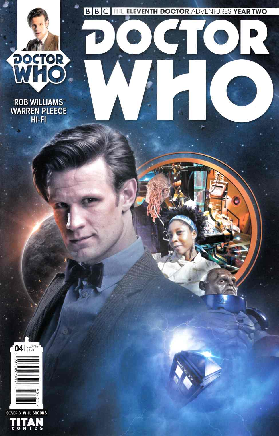 Doctor Who 11th Doctor Year 2 #4 Brooks Subscription Photo Cover [Titan Comic]