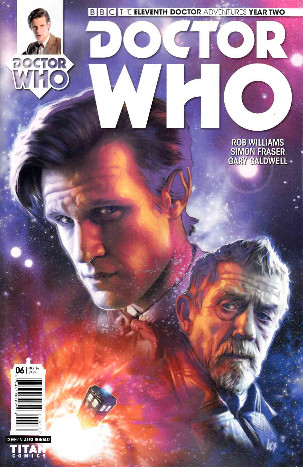 Doctor Who 11th Doctor Year 2 #6 [Titan Comic] THUMBNAIL