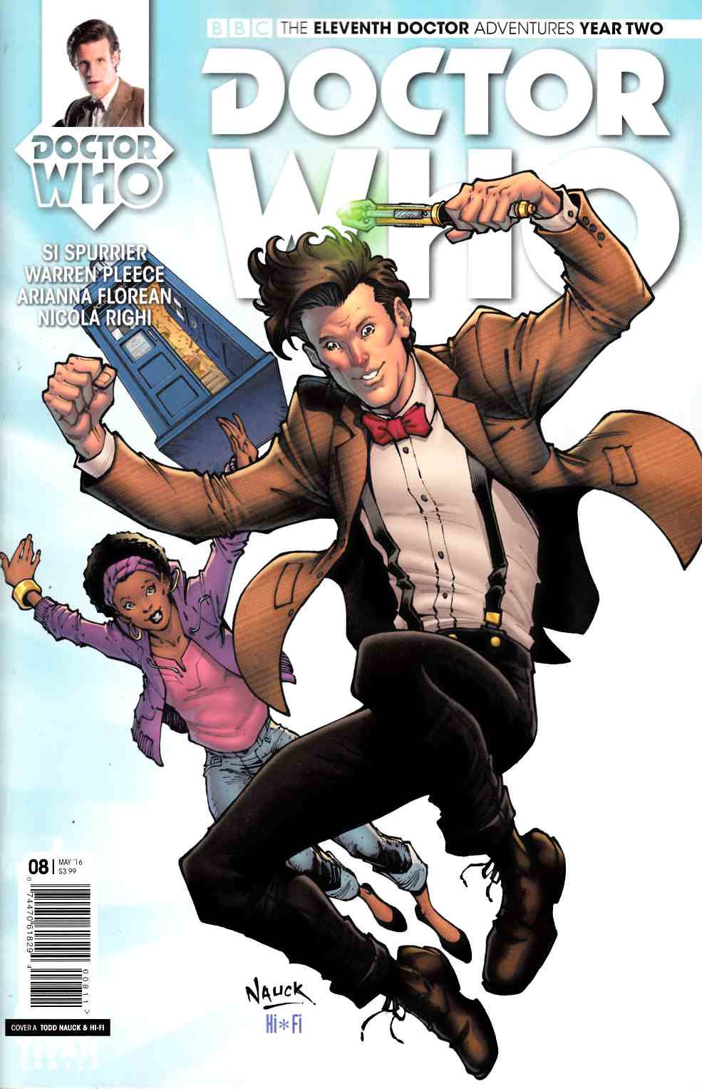 Doctor Who 11th Doctor Year 2 #8 Cover A [Titan Comic]
