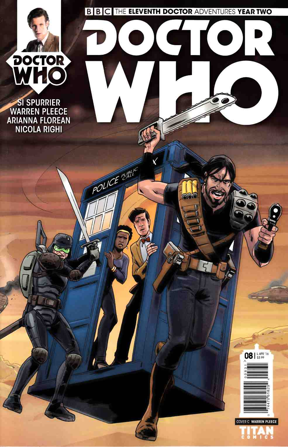 Doctor Who 11th Doctor Year 2 #8 Cover C [Titan Comic] THUMBNAIL