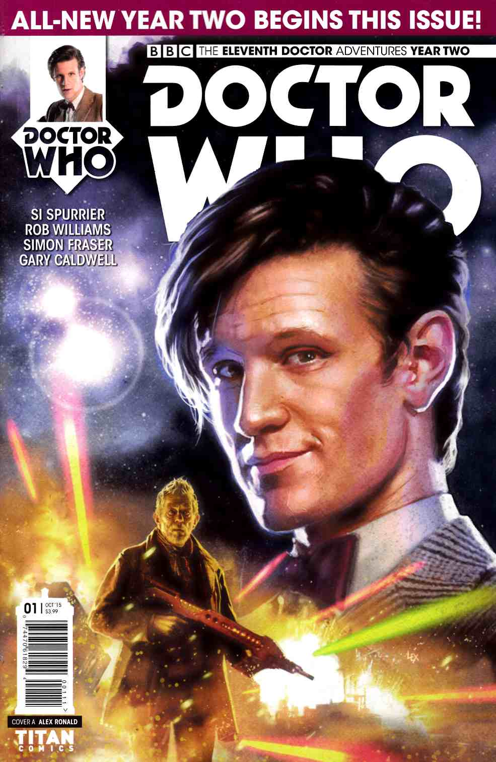 Doctor Who 11th Doctor Year 2 #1 [Titan Comic] THUMBNAIL