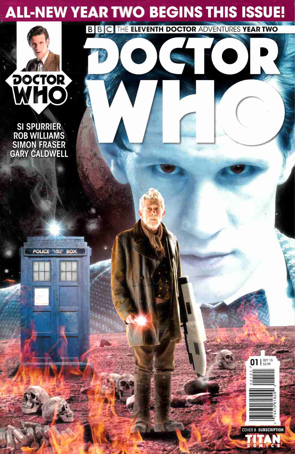 Doctor Who 11th Doctor Year 2 #1 Subscription Photo Cover [Titan Comic]